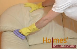 High-quality leather cleaning