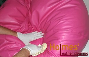Expert leather cleaning in London